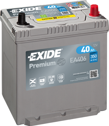 Picture of Акумулатор Exide Premium Carbon 2.0 40Ah 350A