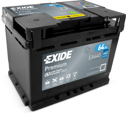 Picture of Акумулатор Exide Premium Carbon 64Ah 640A