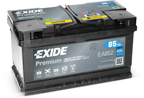 Picture of Акумулатор Exide Premium Carbon 2.0 85Ah 800A