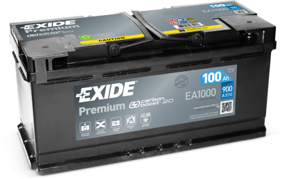 Picture of Акумулатор Exide Premium Carbon 2.0 100Ah 900A
