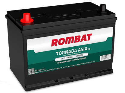 Picture of Акумулатор Rombat Tornada Asia 100Ah 750A Л+